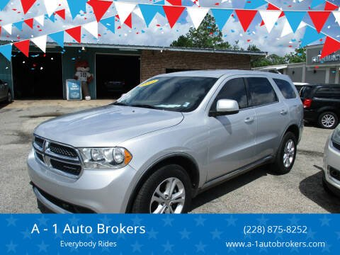 2011 Dodge Durango for sale at A - 1 Auto Brokers in Ocean Springs MS