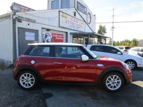2015 MINI Hardtop 2 Door for sale at G&R Auto Sales in Lynnwood WA