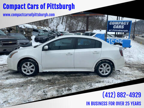 2012 Nissan Sentra for sale at Compact Cars of Pittsburgh in Pittsburgh PA