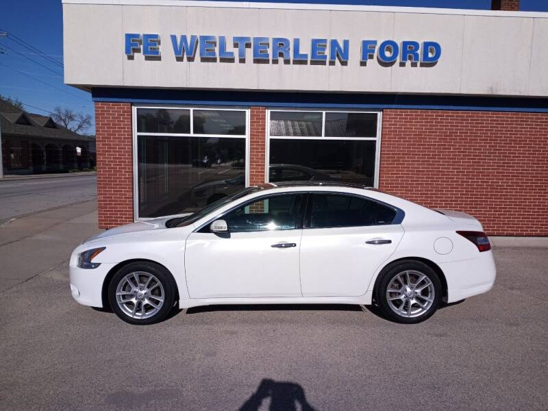 2011 Nissan Maxima for sale at Welterlen Motors in Edgewood IA