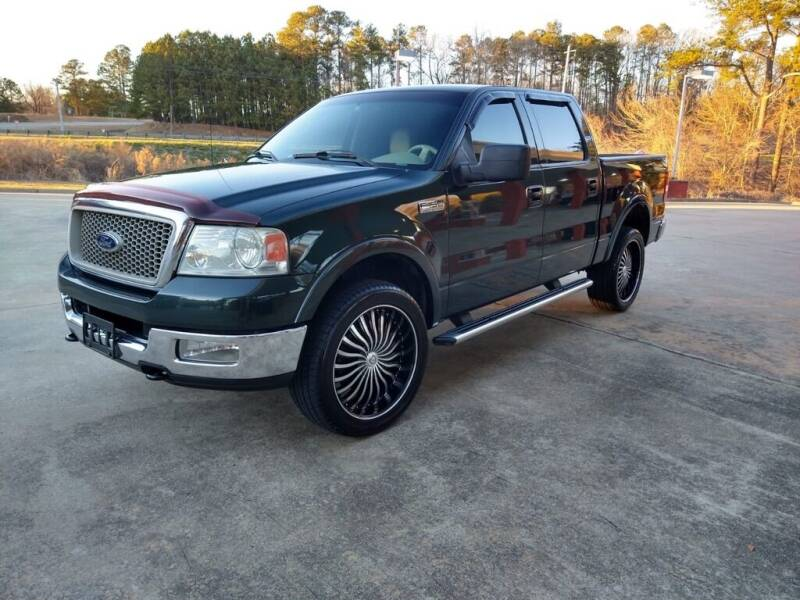 2004 Ford F-150 for sale at A&Q Auto Sales in Gainesville GA