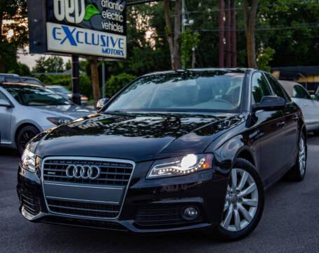 2012 Audi A4 for sale at EXCLUSIVE MOTORS in Virginia Beach VA