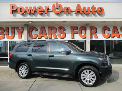 2008 Toyota Sequoia for sale at Power On Auto LLC in Monroe NC