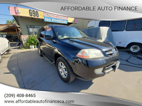 2002 Acura MDX for sale at Affordable Auto Finance in Modesto CA