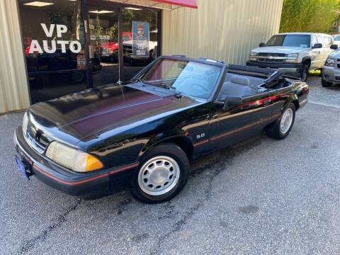1988 Ford Mustang for sale at VP Auto in Greenville SC