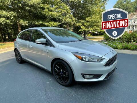 2016 Ford Focus for sale at Premier Auto Solutions & Sales in Quinton VA
