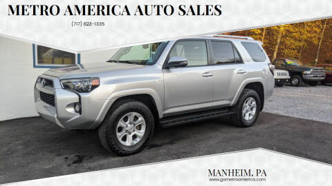 2014 Toyota 4Runner for sale at METRO AMERICA AUTO SALES of Manheim in Manheim PA