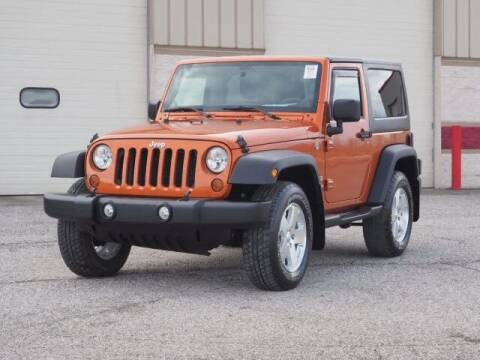 2011 Jeep Wrangler for sale at Auto Sales & Service Wholesale in Indianapolis IN