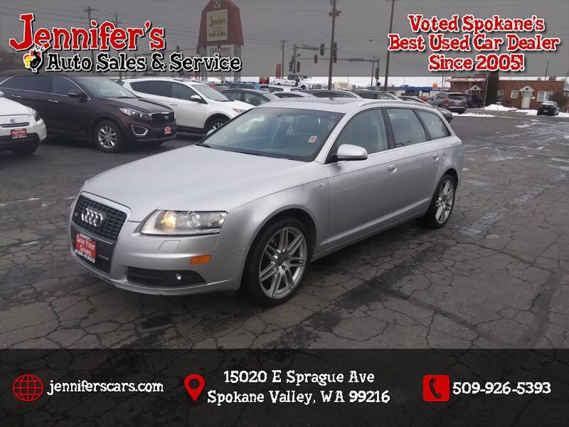 2008 Audi A6 for sale at Jennifer's Auto Sales in Spokane Valley WA
