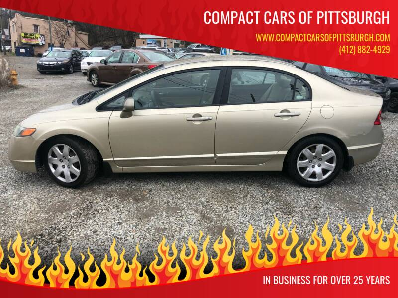 2007 Honda Civic for sale at Compact Cars of Pittsburgh in Pittsburgh PA