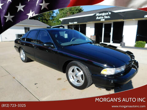1996 Chevrolet Impala for sale at Morgan's Auto Inc in Paoli IN
