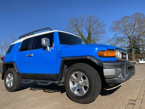 2007 Toyota FJ Cruiser for sale at JES Auto Sales LLC in Fairburn GA