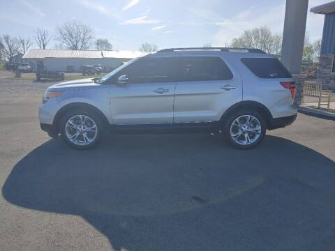 2014 Ford Explorer for sale at Wildfire Motors in Richmond IN