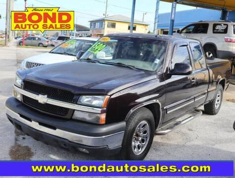 2003 Chevrolet Silverado 1500 for sale at Bond Auto Sales in St Petersburg FL