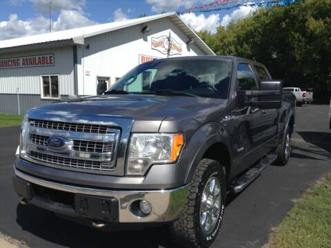 2013 Ford F-150 for sale at Steves Auto Sales in Cambridge MN