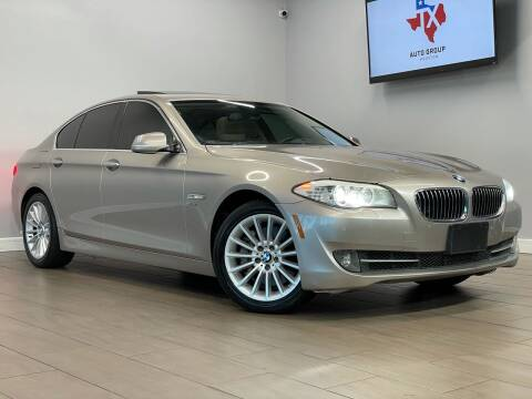 2012 BMW 5 Series for sale at TX Auto Group in Houston TX