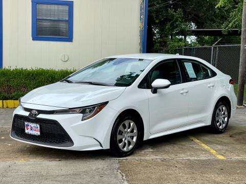 2020 Toyota Corolla for sale at USA Car Sales in Houston TX