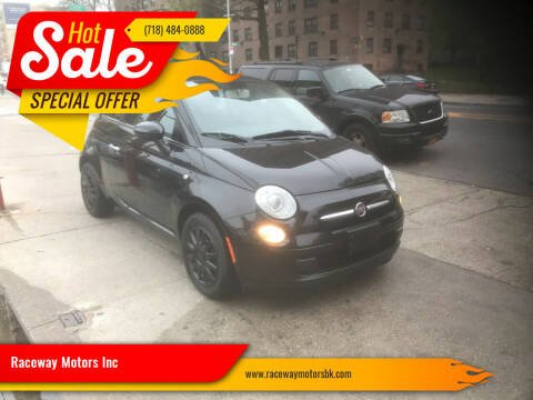 2013 FIAT 500 for sale at Raceway Motors Inc in Brooklyn NY