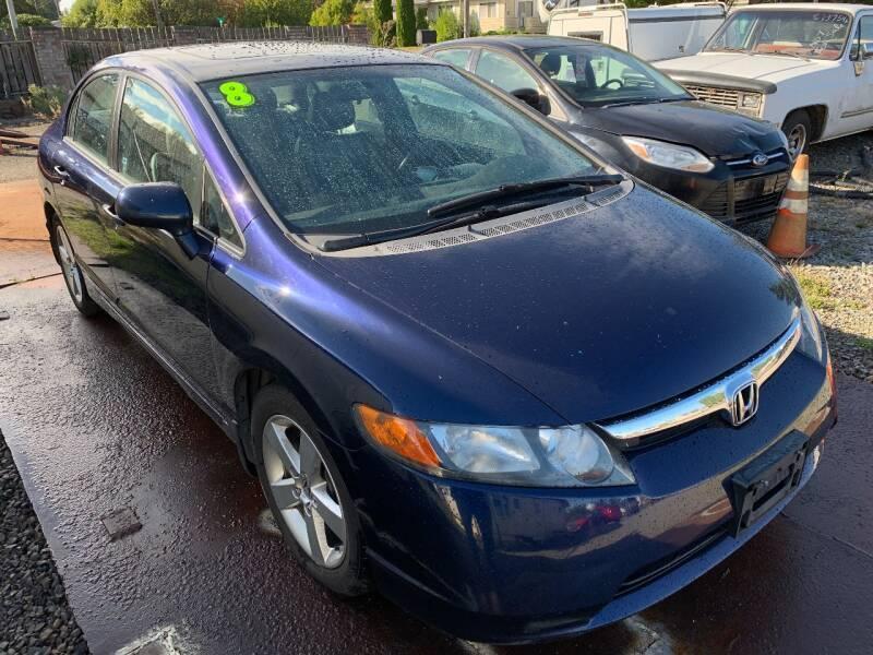2008 Honda Civic for sale at MIDLAND MOTORS LLC in Tacoma WA