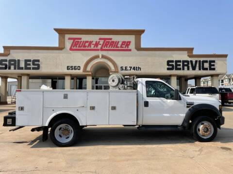 2010 Ford F-550 Super Duty for sale at TRUCK N TRAILER in Oklahoma City OK