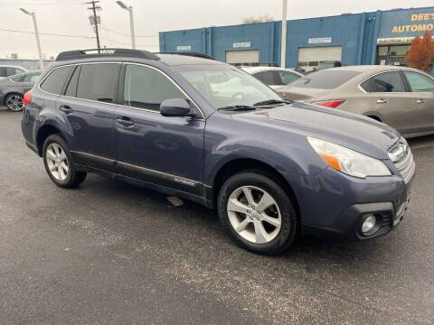 2014 Subaru Outback for sale at Major Car Inc in Murray UT