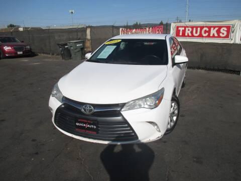 2015 Toyota Camry for sale at Quick Auto Sales in Modesto CA