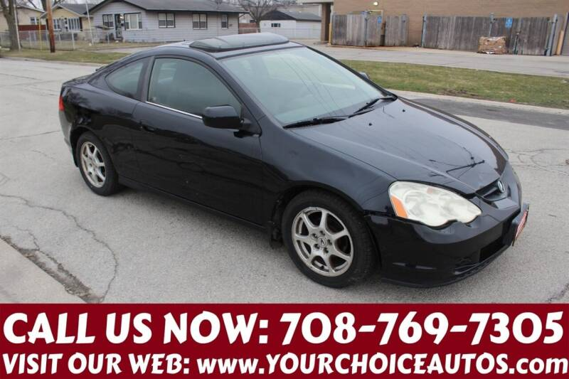 2004 Acura RSX for sale at Your Choice Autos in Posen IL