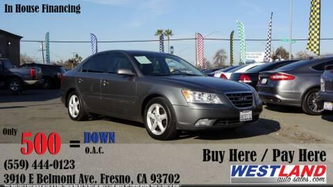 2009 Hyundai Sonata for sale at Westland Auto Sales in Fresno CA