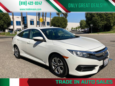 2018 Honda Civic for sale at Trade In Auto Sales in Van Nuys CA