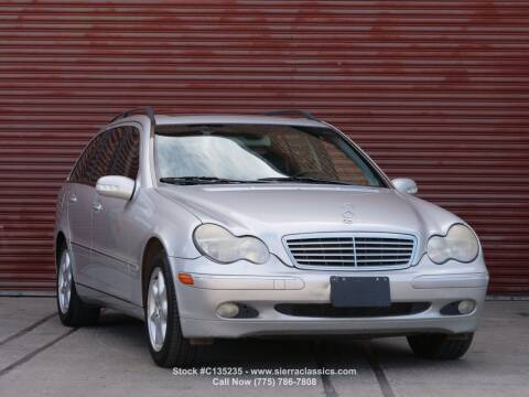 2002 Mercedes-Benz C-Class for sale at Sierra Classics & Imports in Reno NV