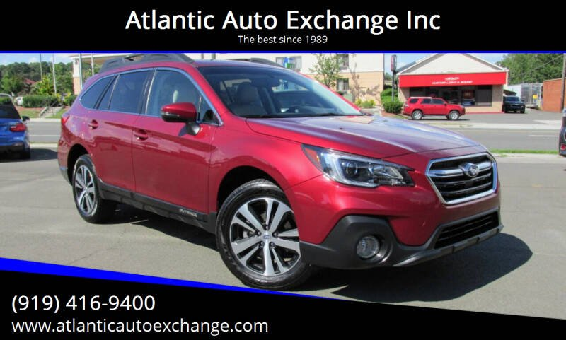2018 Subaru Outback for sale at Atlantic Auto Exchange Inc in Durham NC