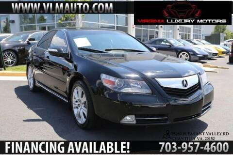 2010 Acura RL for sale at Used Imports Auto - Virginia Luxury Motors in Chantilly GA
