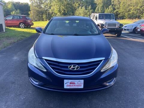 2011 Hyundai Sonata for sale at MBL Auto Woodford in Woodford VA