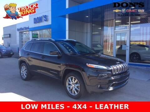 2018 Jeep Cherokee for sale at DON'S CHEVY, BUICK-GMC & CADILLAC in Wauseon OH