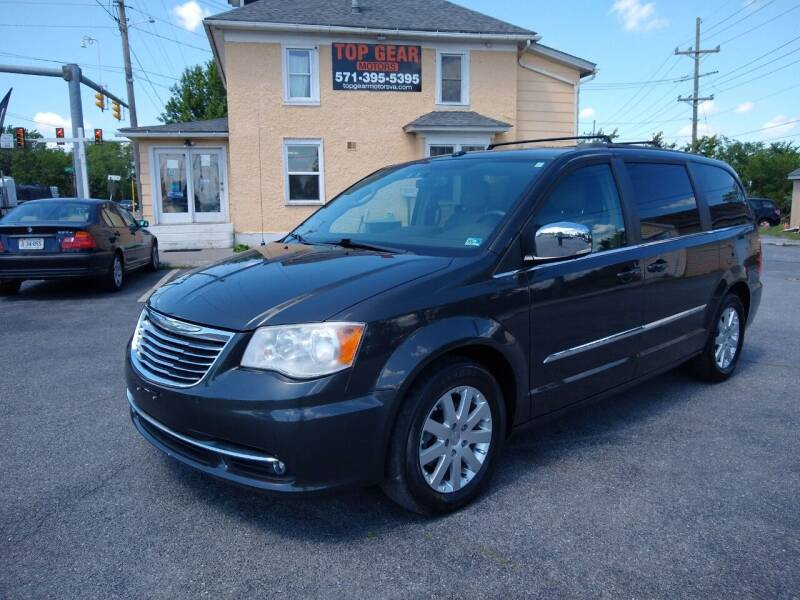2011 Chrysler Town and Country for sale at Top Gear Motors in Winchester VA