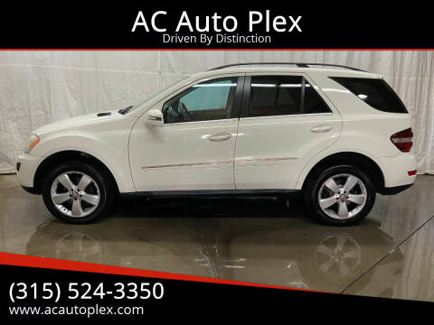 2011 Mercedes-Benz M-Class for sale at AC Auto Plex in Ontario NY