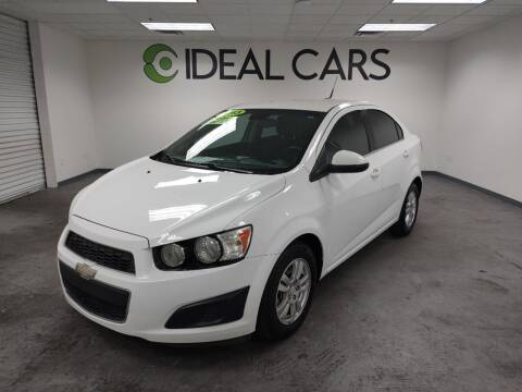 2013 Chevrolet Sonic for sale at Ideal Cars East Mesa in Mesa AZ