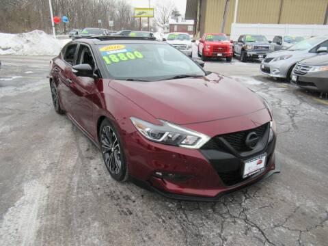 2016 Nissan Maxima for sale at Auto Land Inc in Crest Hill IL