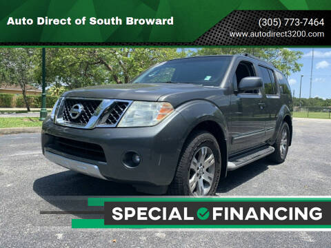 2008 Nissan Pathfinder for sale at Auto Direct of South Broward in Miramar FL