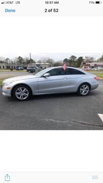 2010 Mercedes-Benz E-Class for sale at Mega Autosports in Chesapeake VA