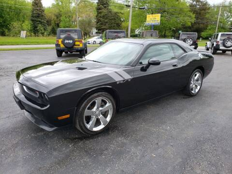 2009 Dodge Challenger for sale at Motorsports Motors LLC in Youngstown OH