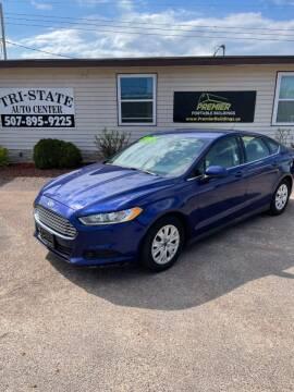 2014 Ford Fusion for sale at Tri State Auto Center in La Crescent MN