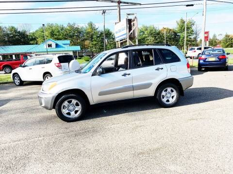 2002 Toyota RAV4 for sale at New Wave Auto of Vineland in Vineland NJ