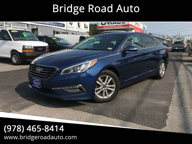 2016 Hyundai Sonata for sale at Bridge Road Auto in Salisbury MA