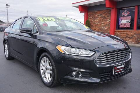 2014 Ford Fusion for sale at Premium Motors in Louisville KY