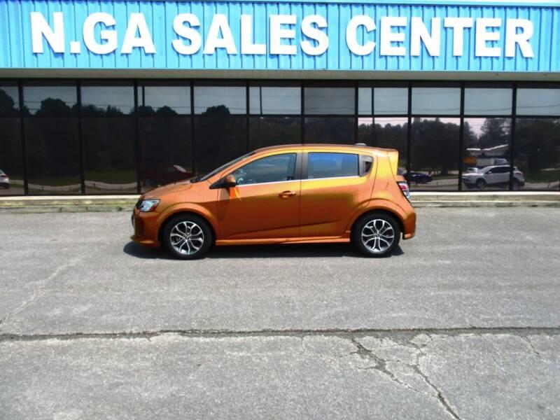 2017 Chevrolet Sonic for sale at NORTH GEORGIA Sales Center in La Fayette GA