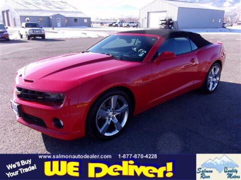 2011 Chevrolet Camaro for sale at QUALITY MOTORS in Salmon ID