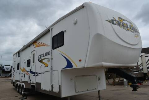 2007 Heartland Cyclone 3795 for sale at Buy Here Pay Here RV in Burleson TX