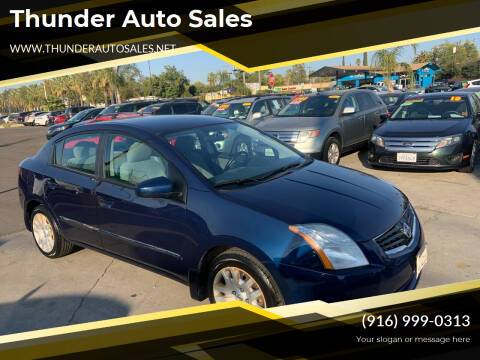 2010 Nissan Sentra for sale at Thunder Auto Sales in Sacramento CA