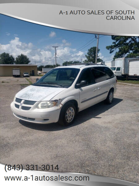 2001 Dodge Grand Caravan for sale at A-1 Auto Sales Of South Carolina in Conway SC